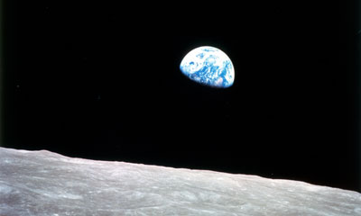 The Earth from the Moon. Credit: NASA