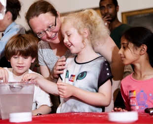 Family activities at the Summer Science Exhibition