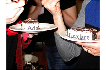 Ada Lovelace cake