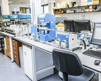 image of a modern day scientific laboratory