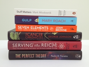 Shortlisted books - Royal Society Winton Prize for Science Books 2014