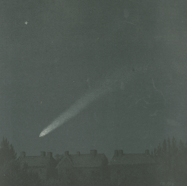 'The comet of 1882', from 'The story of the heavens' by Robert Ball, 1913