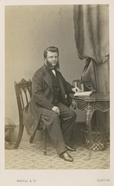 Portrait of Frederick Abel FRS by Maull & Co., ca. 1875