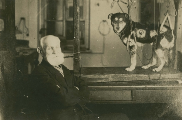 Ivan Pavlov and dog