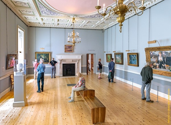 The Wolfson Room at the Courtauld Gallery in Somerset House