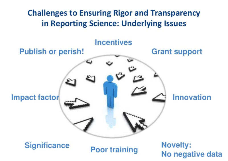 Rigor in science infographic