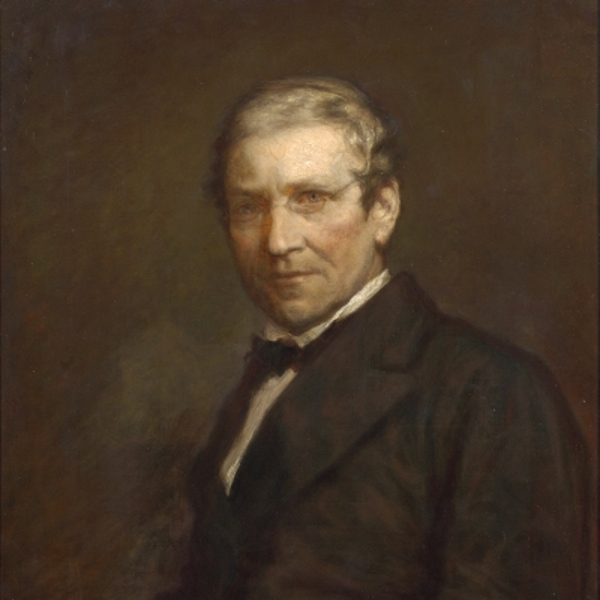 Portrait of Charles Wheatstone by Charles Martin, 1860s