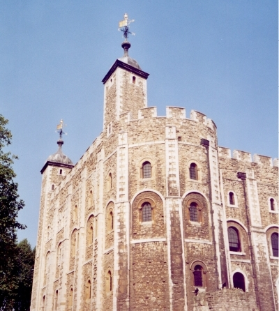 The Tower of London (Wikimedia Commons)