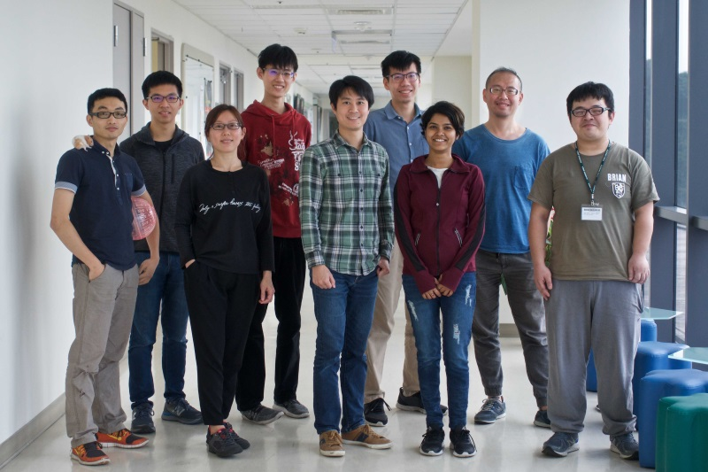 The Suewei Lin lab group