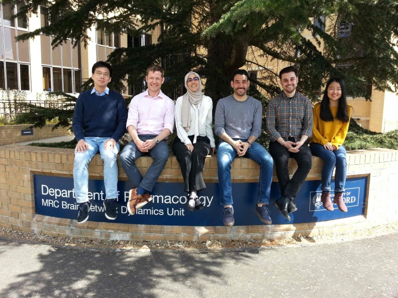 Tommas Ellender Lab Group, Department of Pharmacology, University of Oxford