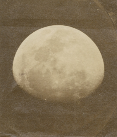 Study of the Moon by John Phillips, 1853