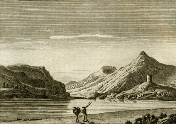 'View in Nantberis' by Moses Griffith, 1781