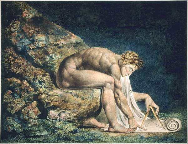 William Blake's 'Newton', 1795