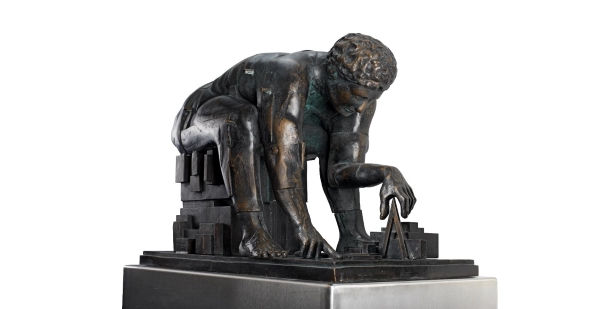 'Newton after Blake' maquette by Paolozzi