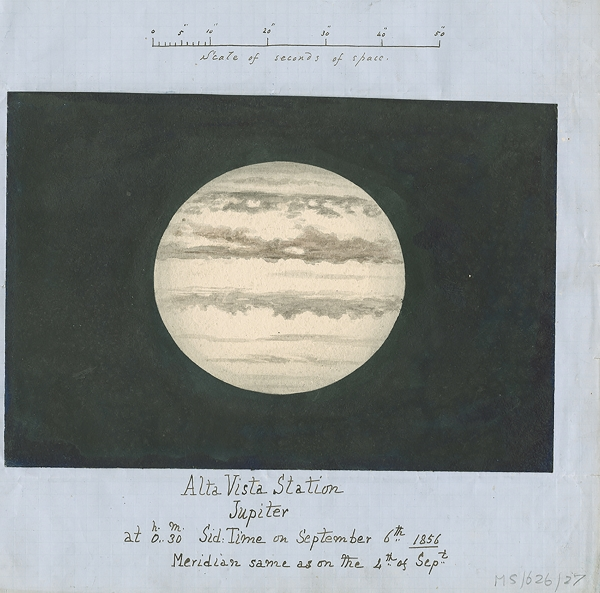 Watercolour of Jupiter