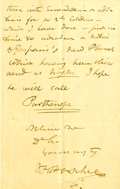 Letter to J. D. Forbes