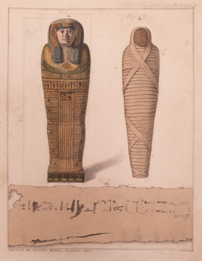From 'An essay on Egyptian mummies; with observations on the art of embalming among the ancient Egyptians'