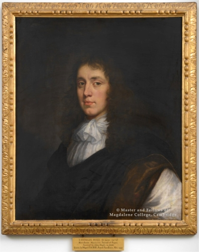 Thomas Hill by John Hayls