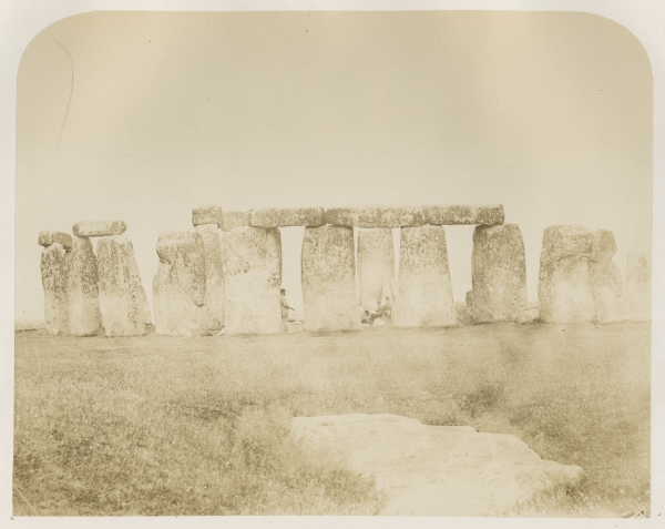 Plate 11 ('General view') from 'Plans and photographs of Stonehenge' by Henry James FRS, 1867