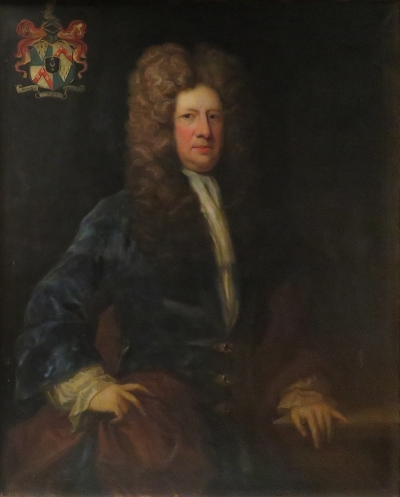 Portrait of Cyril Wyche by an unknown artist