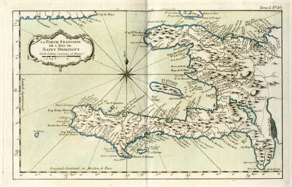 Saint-Domingue - now Haiti - in 1762