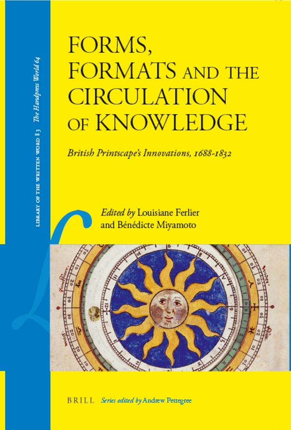 Front cover of 'Forms, Formats and the Circulation of Knowledge'