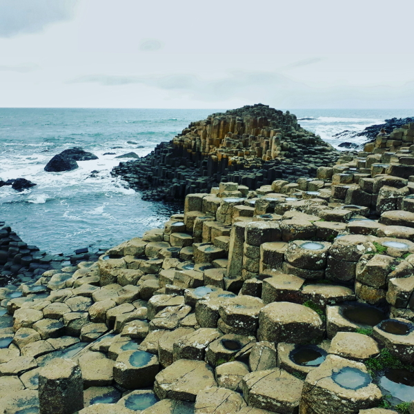 The Giant's Causeway (image from Wikimedia Commons)