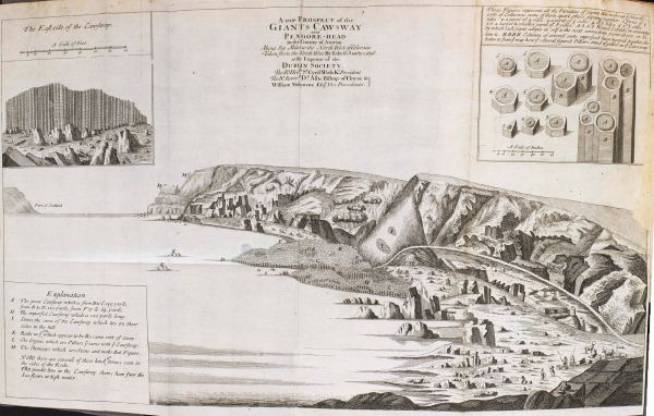 View of the Giants Causeway after Edwin Sandys, 1697