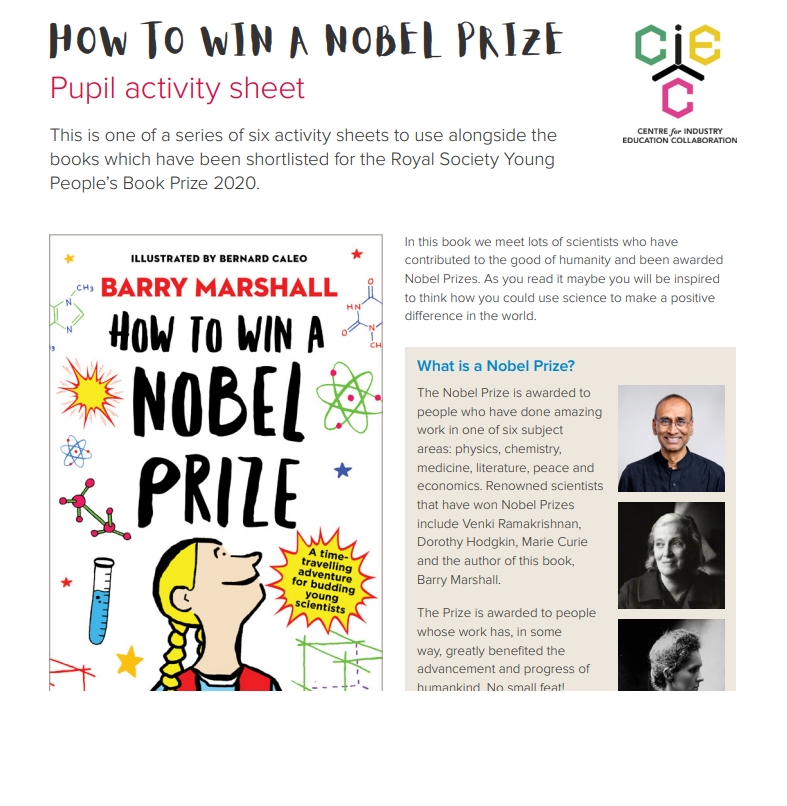 2020 Young People's Book Prize resource
