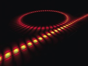 Nanoscale plasmonic waveguide