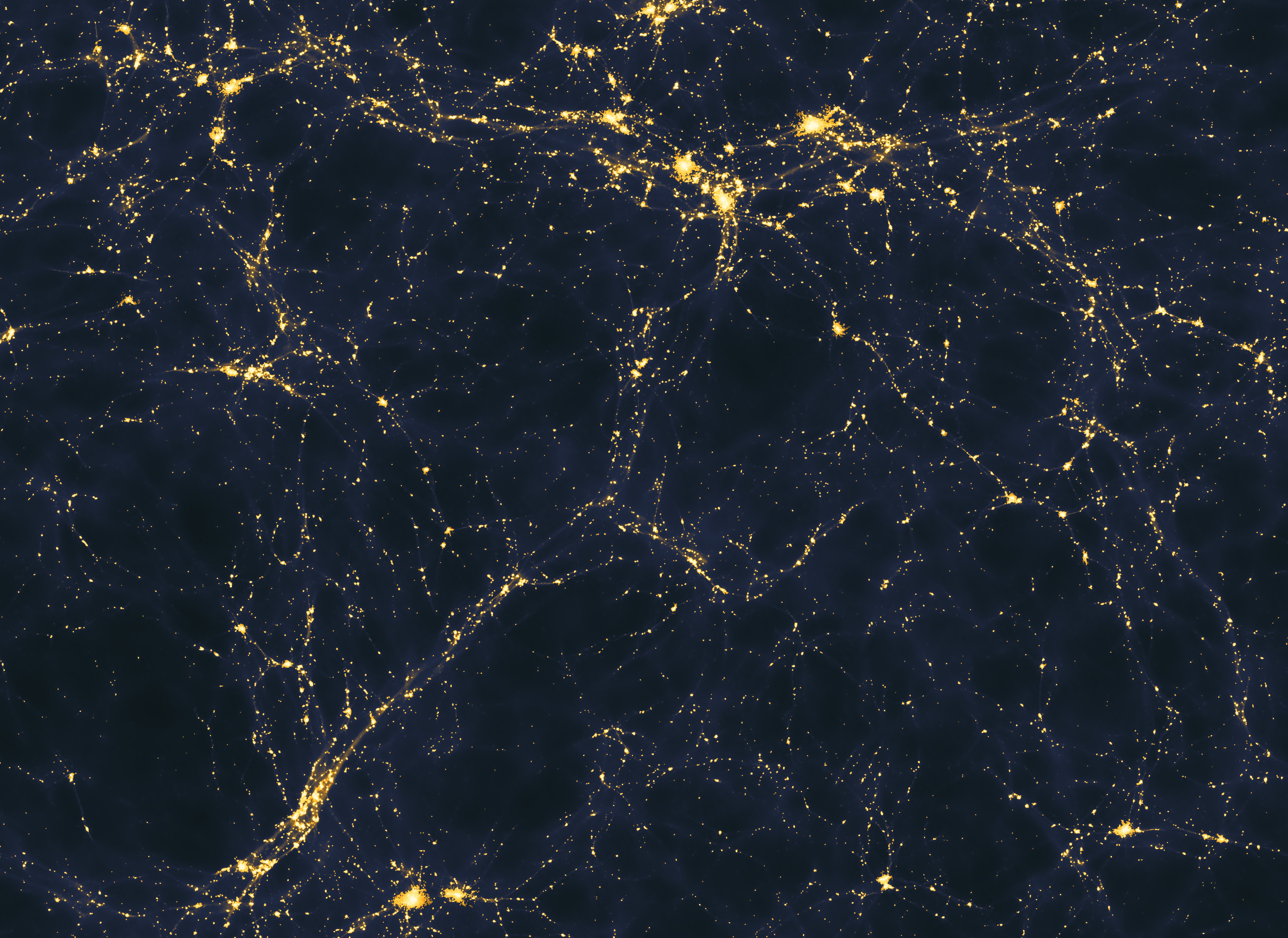 Possible light distribution in the universe
