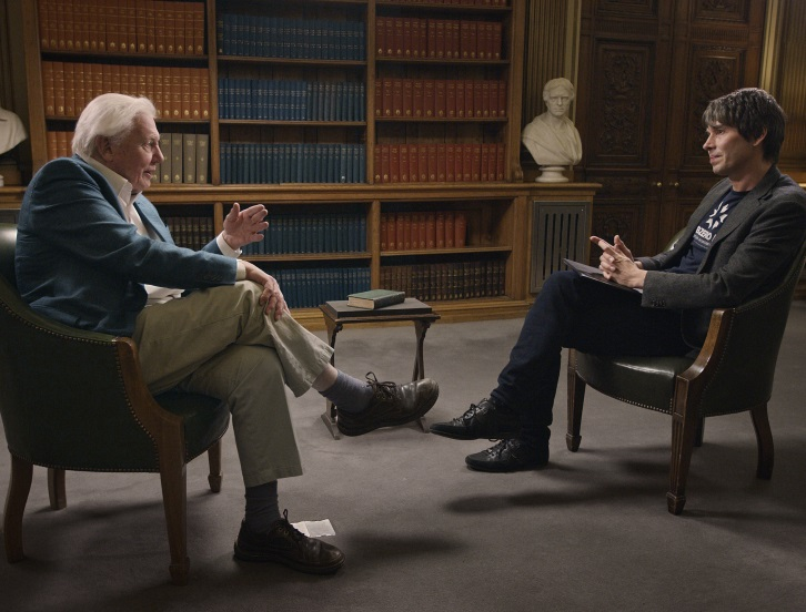 Sir David Attenborough speaks with Professor Brian Cox