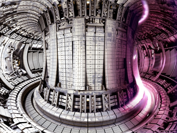 JET, currently the world's largest fusion experiment