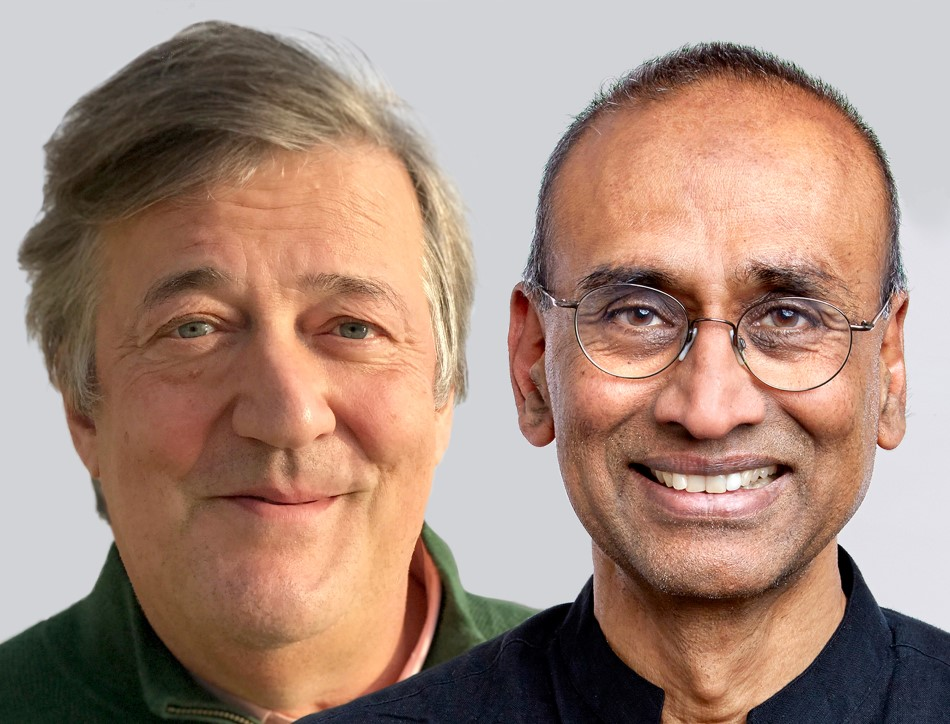 An evening with Stephen Fry and Venki Ramakrishnan