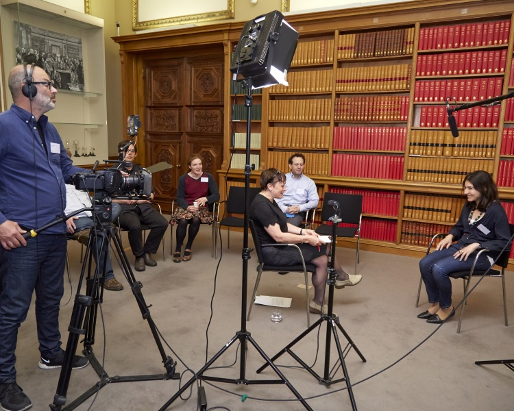 Media skills training course at the Royal Society, London