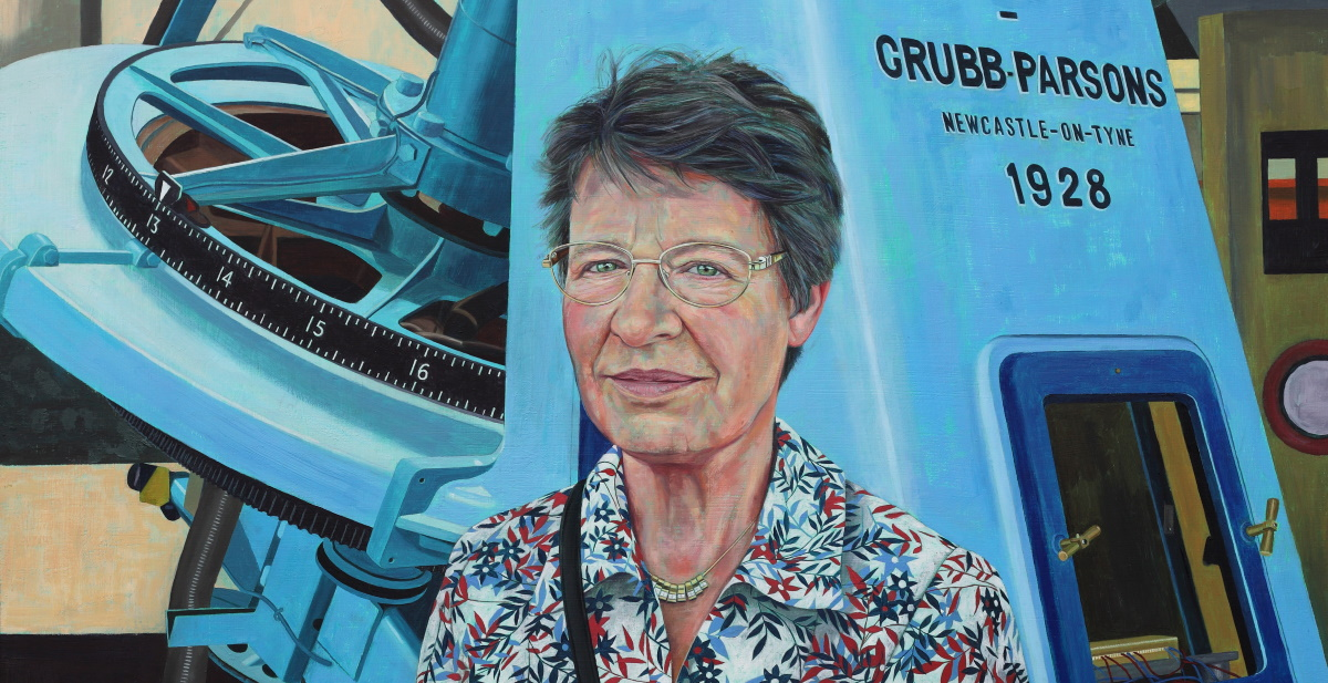 Portrait of Jocelyn Bell Burnell. Copyright: Stephen Shankland