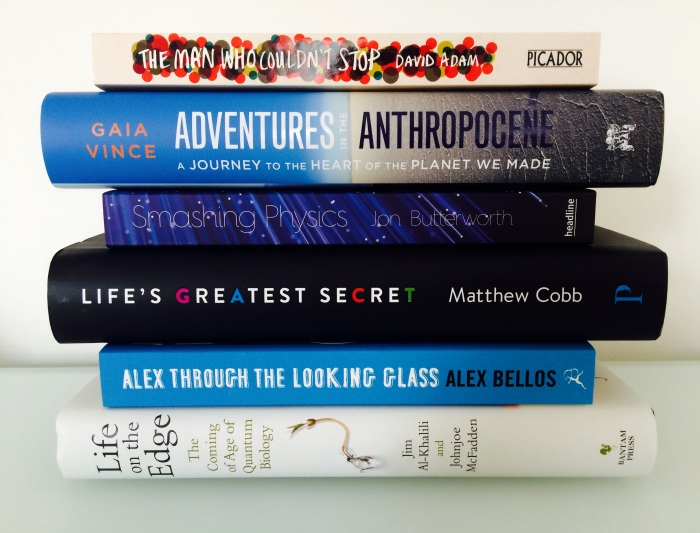 Winton Prize shortlisted books