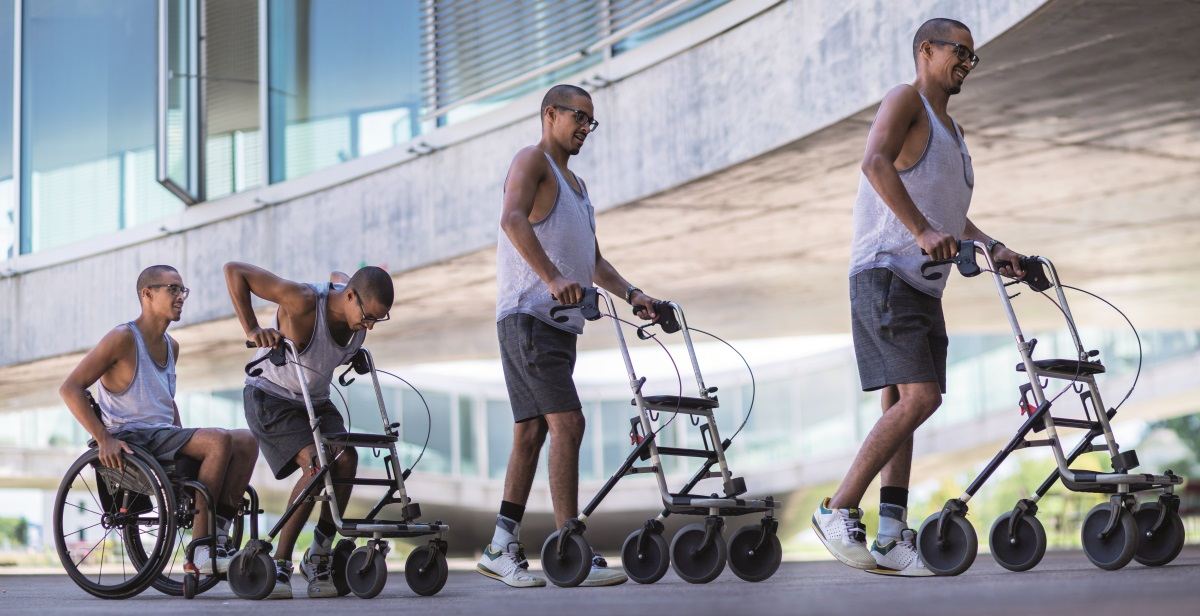 Some people with paraplegia have been helped to walk again