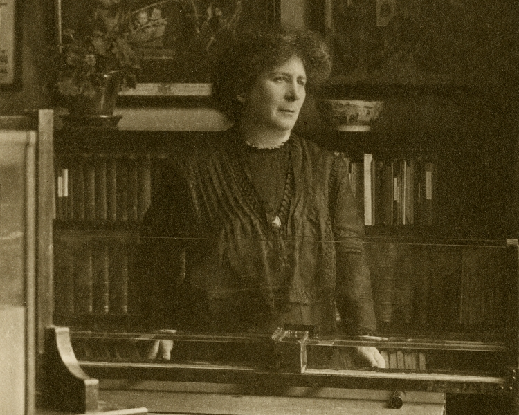 Hertha Ayrton in her laboratory. Credit: the Royal Society