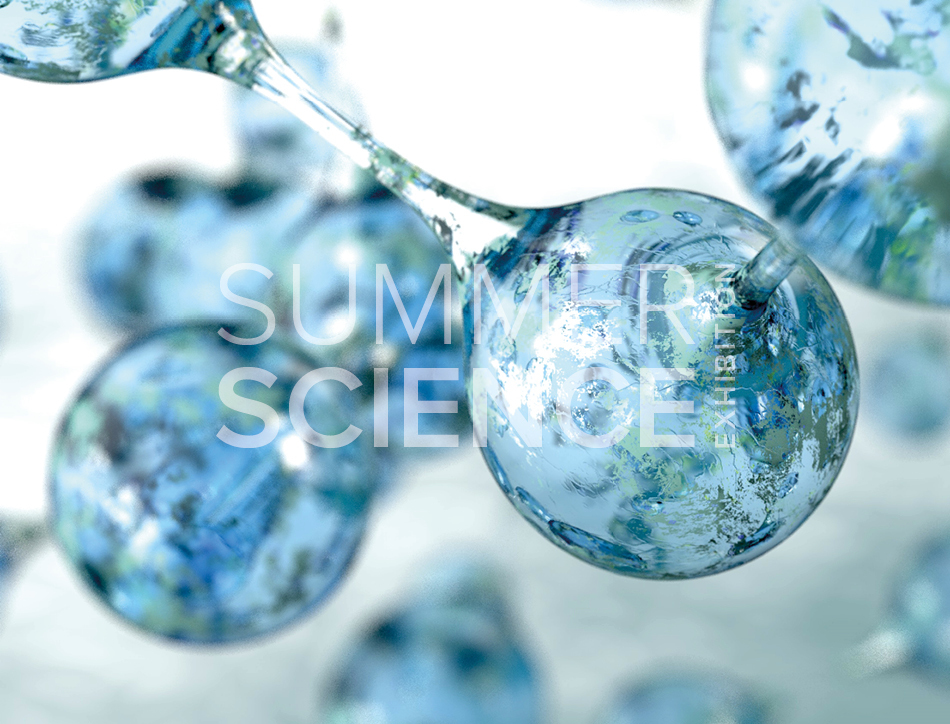 Summer Science Exhibition: 3D visualisation of water molecules