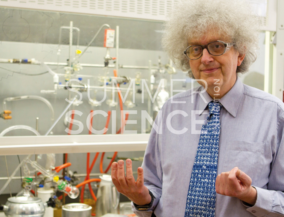 Summer Science Exhibition: Professor Martyn Poliakoff talking about the elements of the Periodic Table
