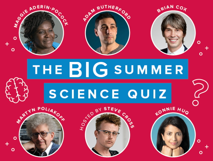The big Summer Science quiz