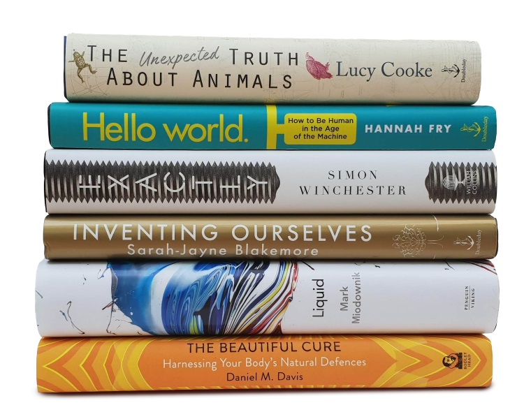 The Royal Society Insight Investment Science Book Prize Shortlist 2018