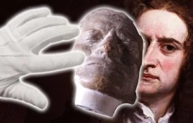 See the 'death masks' of Isaac Newton and James Jeans.