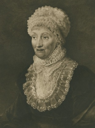 Portrait of Caroline Lucretia Herschel (1912) ©The Royal Society