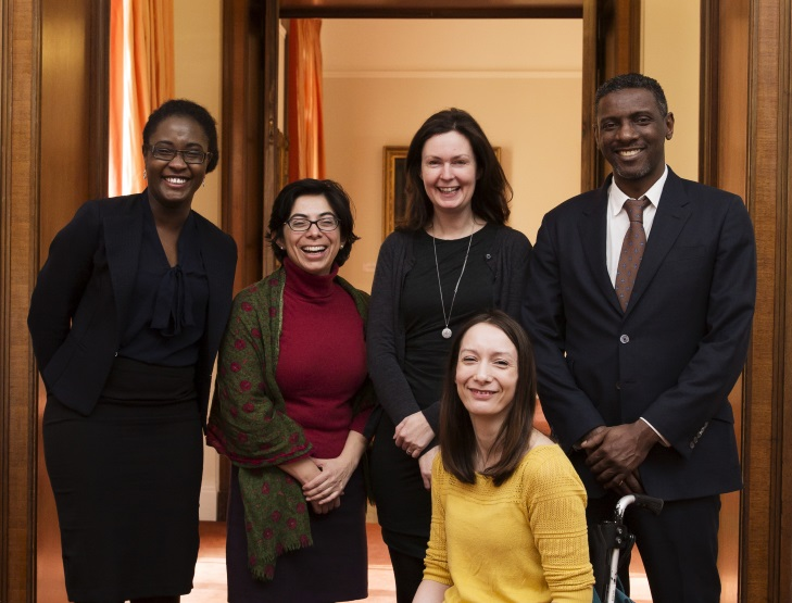 Panellists at the 2015 Royal Society Diversity Conference