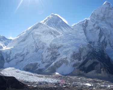 Vanishing Glaciers of Everest
