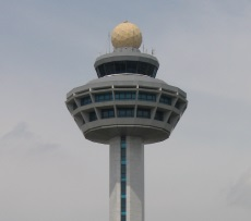 Changi International Airport control tower