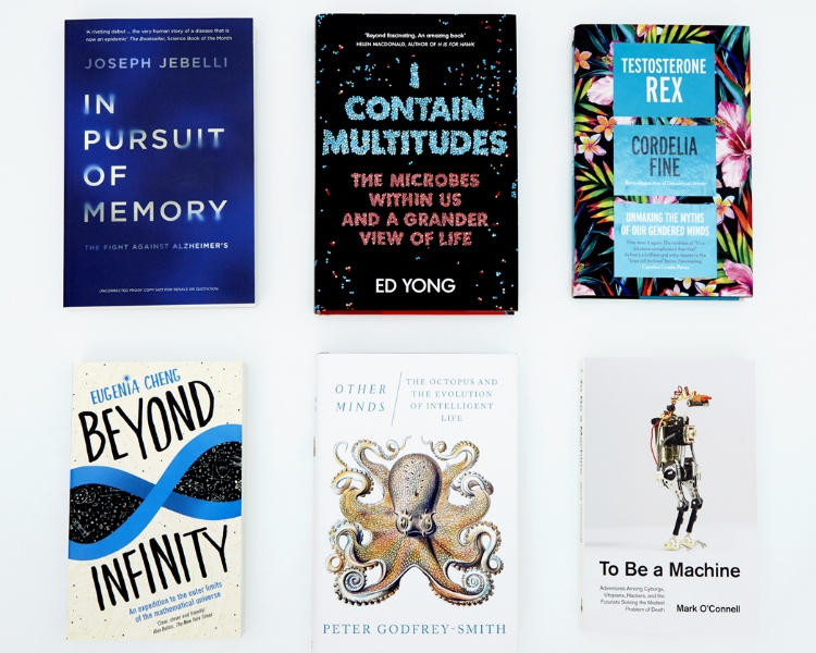 The 2017 shortlist for the Royal Society Insight Investment Science Book Prize.