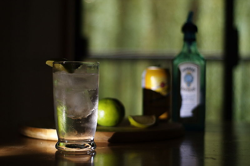 can a gin and tonic save your life?